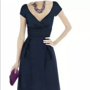 ALFRED SUNG midnight blue dress- NWT